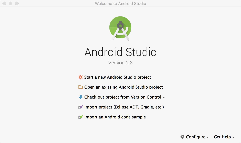 建立新的Android專案,認識Android Studio環境