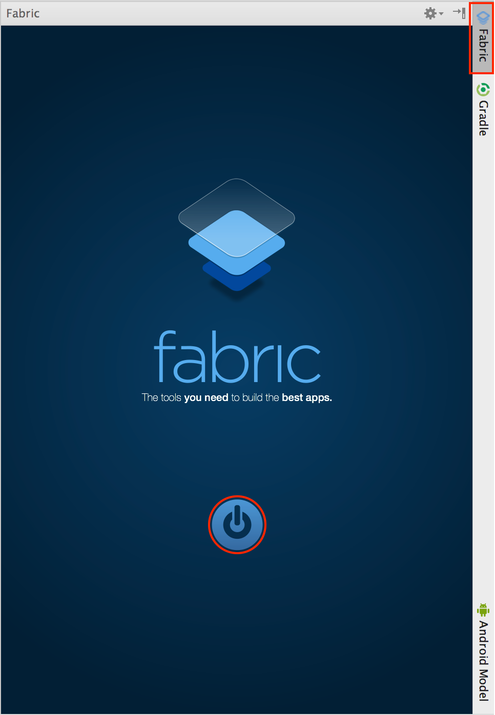 android studio fabric plugin