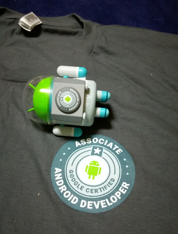 通過 Google Certified Associate Android Developer 認證的小禮物